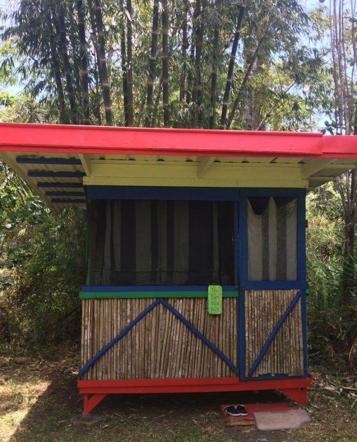 Bamboo Hut in Hawaii