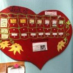 Community Calendar: Heart Board