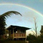 Rainbow over Ohana Kahuna cabin