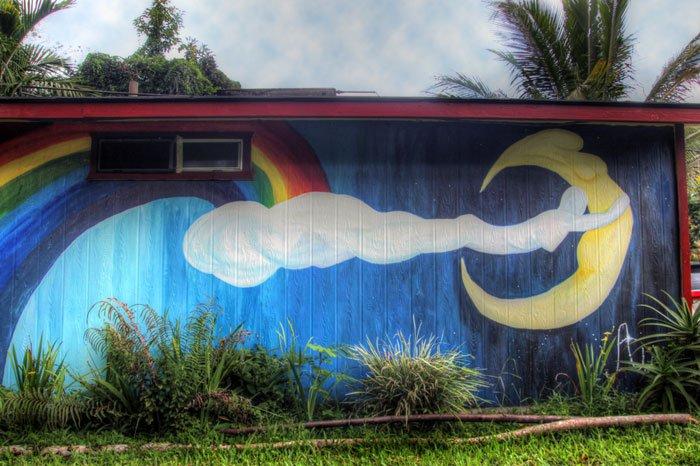 Hedonisia Jungle Cottage Mural