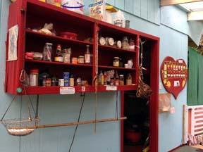 Shared Community Food Shelf and Heartboard