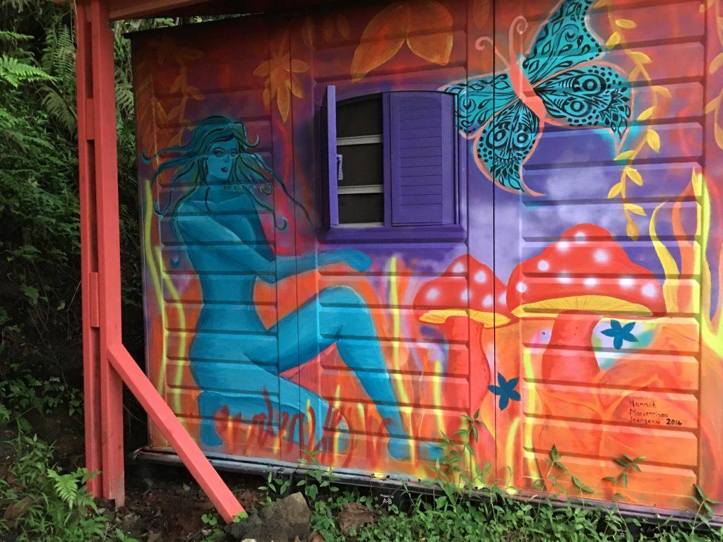 Cozy Nook side mural