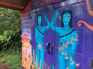 Jungle Queen art murals