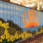 Hedonisia Female Solar Rays Mural